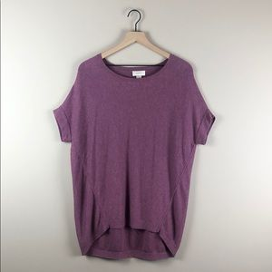 Ann Taylor LOFT Short-Sleeve Dolman Top (Small)